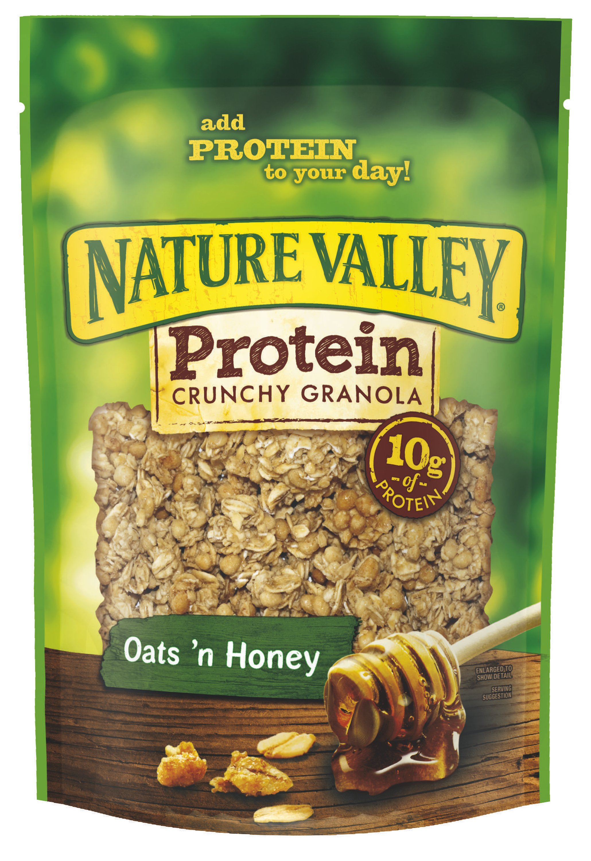 ... Protein Crunchy Granola and a Nature Valley mug! Breakfast is served