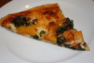 Butternut Squash and Kale Pizza
