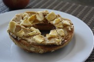 PB Crunch Bagel