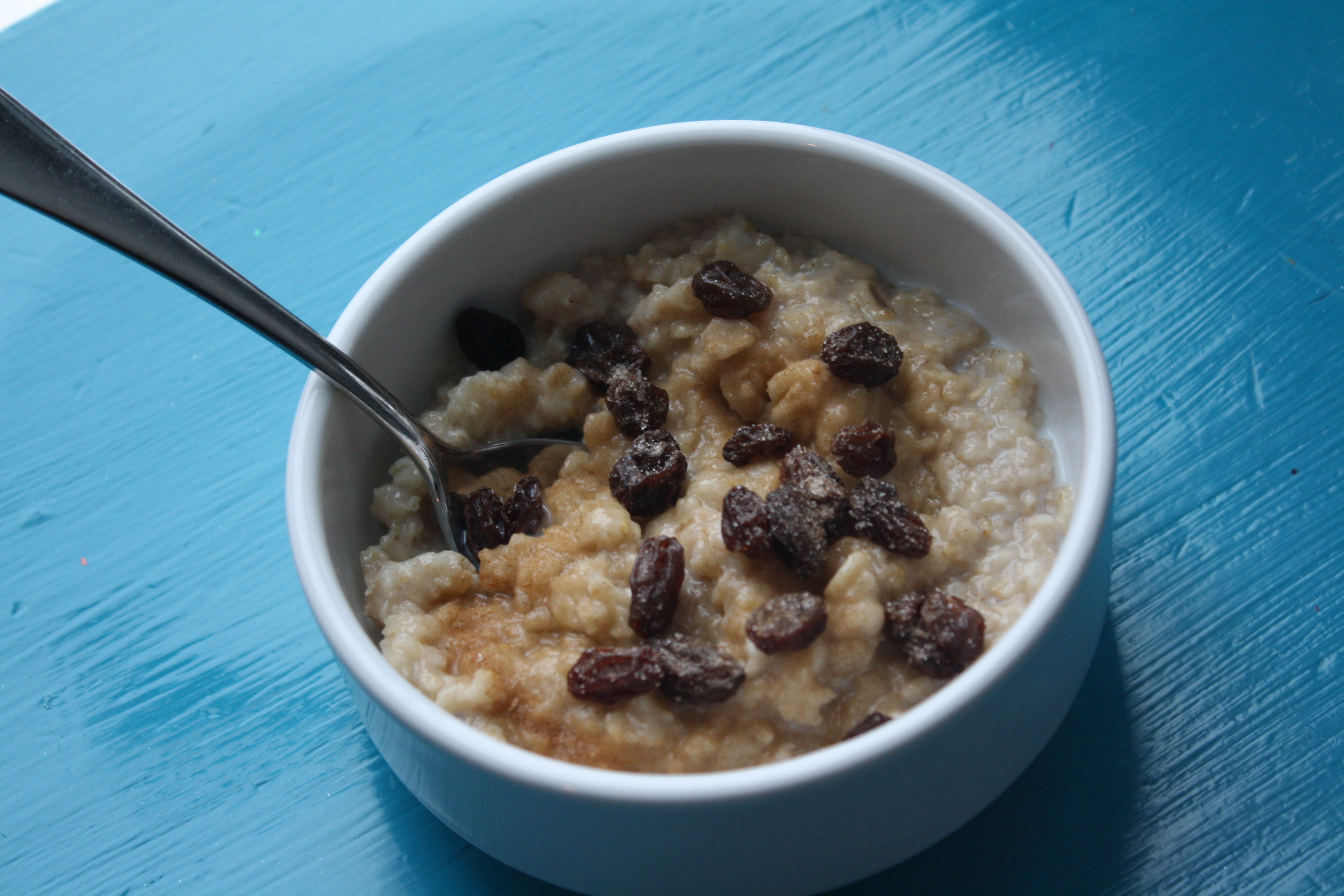 how to make cinnamon oatmeal with water