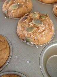 Charlies Double Pumpkin Muffins