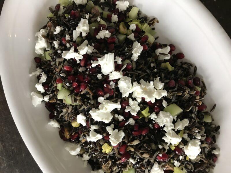 Mediterranean Wild Rice Salad