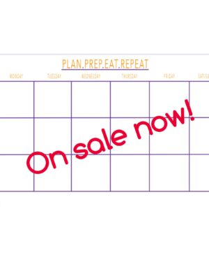 meal planner white board dana white nutrition