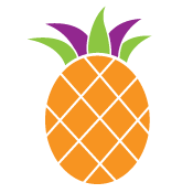 Dana White Nutrition pineapple icon
